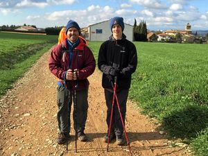 Father and son walking 800km to raise money for orphans
