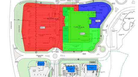 This is the plan for the new Coles store.