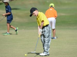 Jnr Golf at Yeppoon