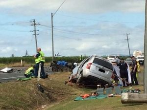 UPDATE: Woman in serious but stable condition after crash