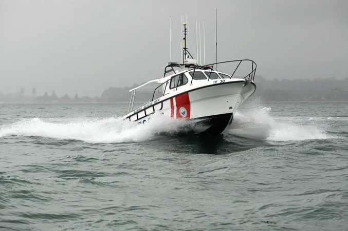 RESCUE: Coffs Harbour and Yamba Illuka Marine Rescue crews aided a stricken yacht off Brooms Head late Thursday evening.