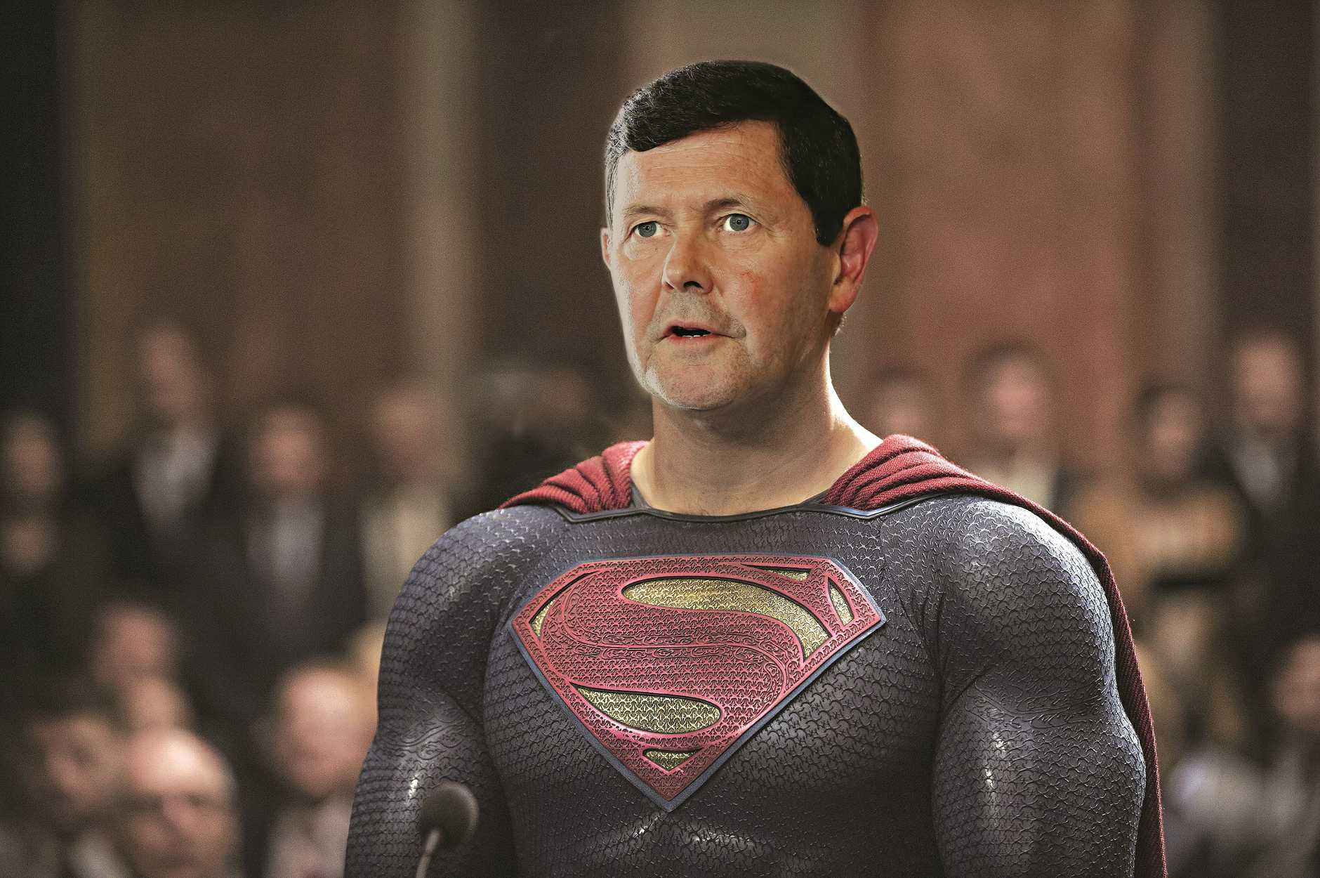 Kevin Andrews to the rescue. Reluctantly, of course.