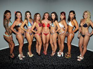Swimwear Models QLD Hotel