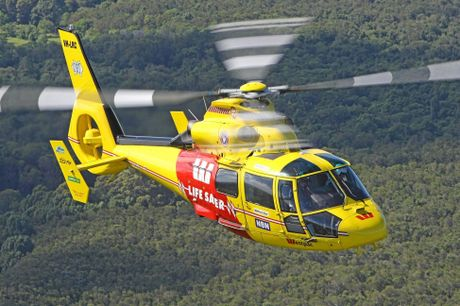 The Westpac Rescue Lifesaver Helicopter Service