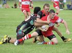 Rebels Luke Welch during the first grade rugby league match between the South Grafton Rebels and the Sawtell Panthers at McKittrick Park South Grafton on Sunday, 10th April, 2016. Photo Debrah Novak / The Daily Examiner