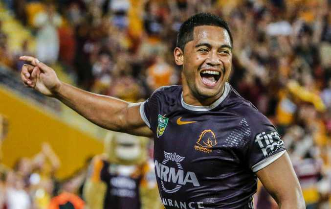 Anthony Milford in action for the Broncos last Thursday night. Photo: AAP Image.