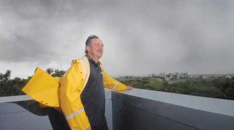 John McIlwham from the Mackay Bureau of Meteorology Station at Mt Bassett Photo Tony Martin / Daily Mercury