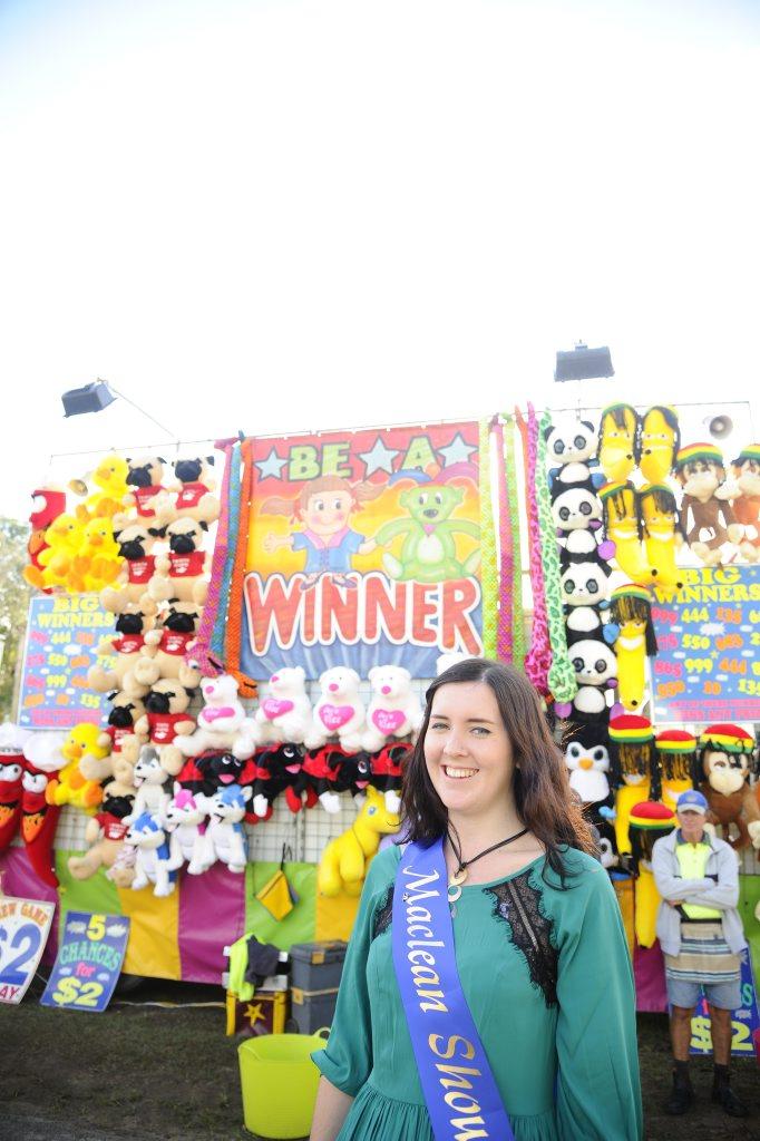 Maclean Showgirl winner Grace Ryan. Photo JoJo Newby / The Daily Examiner