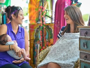 Safe space for breastfeeding mums in Gladstone