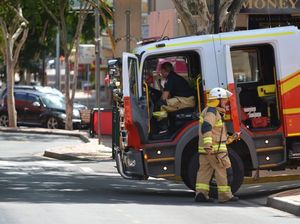 Suspected gas leak in Mary St, Gympie.