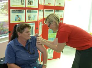 Hospital Staff prepare for flu season