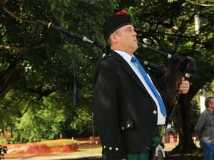 Mackay's rich history of pipers