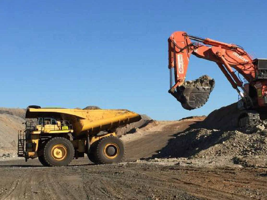 FIRST COAL: Stanmore Coal's Isaac Plains mine processed its first coal on Wednesday.