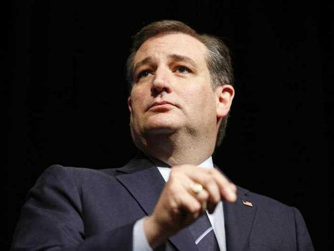 Republican presidential candidate, Sen. Ted Cruz, R-Texas, speaks at the Republican Jewish Coalition spring leadership meeting, Saturday, April 9, 2016, in Las Vegas.