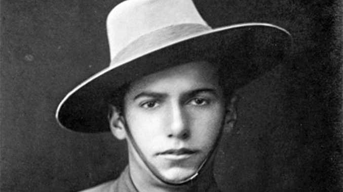JUST A LAD: Jack Trevan, soldier, bugler, and hero, killed at Gallipoli at age 19.