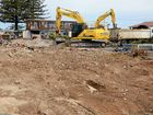 Demolition of the Sundowner Motel in Ballina. Reside Living will be built on the site on the corner of Kerr and River Streets.