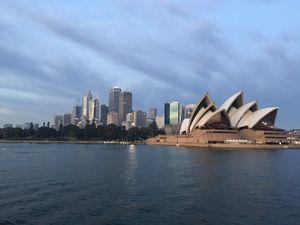 Sydney sights shots on an iPhone SE