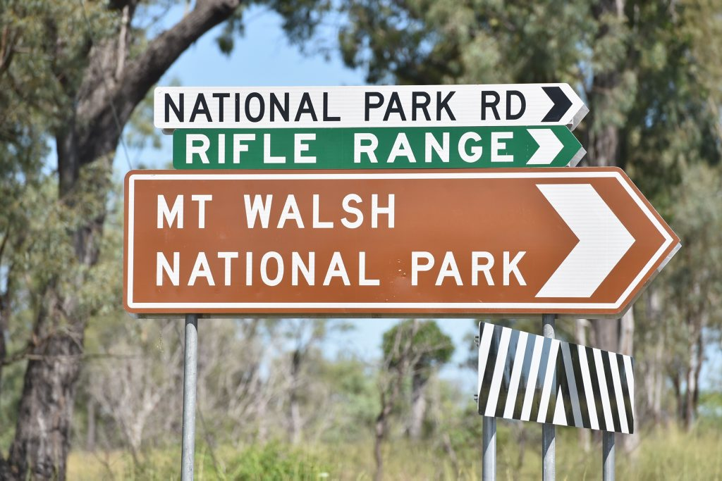 Mt Walsh National Park