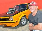 David Peterstorfer and his 1976 Torana Photo Tony Martin / Daily Mercury
