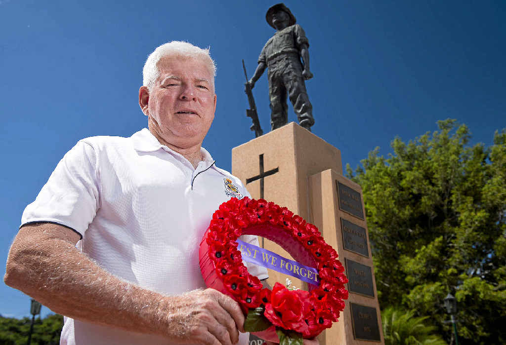 AN HONOUR: The Gladstone RSL sub branch has a new president, Harry Tattersall.