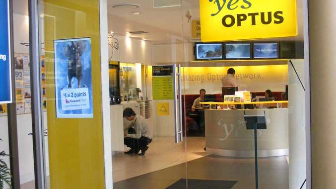 Downtown Lismore 'yes' Optus store. Photo  / The Northern Star