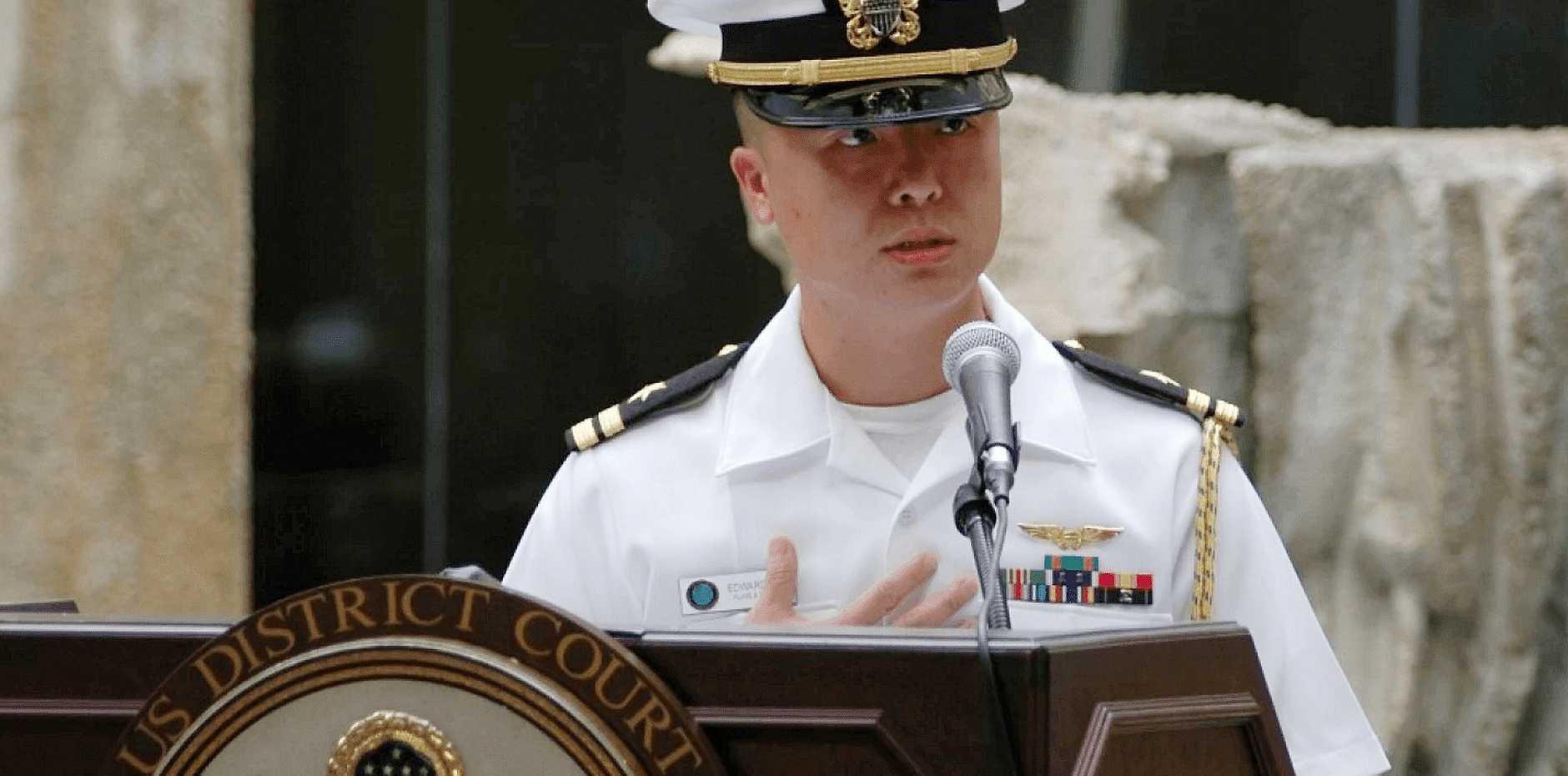 Lt Cdr Edward Lin.