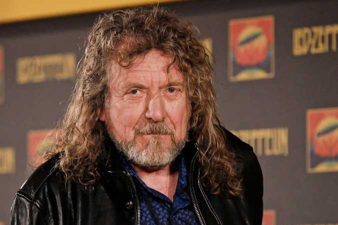 Led Zepplin frontman Robert Plant.