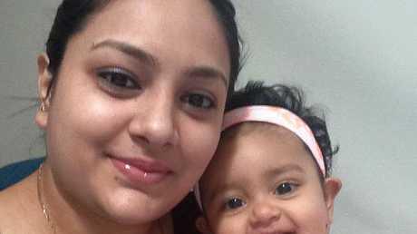 Sanaya Sahib pictured with her mother Sofina Nikat.