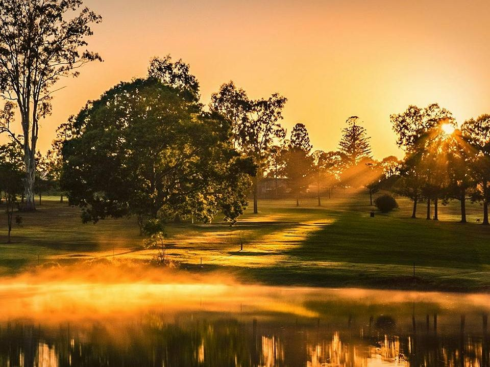 Steven Jappe's photo 'Sunrise at Wolston Park' was the popular choice with our readers this week.