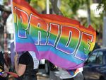 Pride at the marriage equality rally held in Rockhampton on Sunday.Photo: Chris Ison / The Morning Bulletin