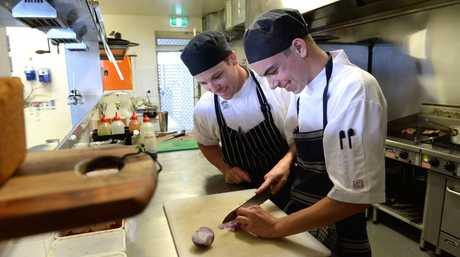 Work as a chef at Brodribb Home or as a restaurant manger at Brisbane West Wellcamp Airport.