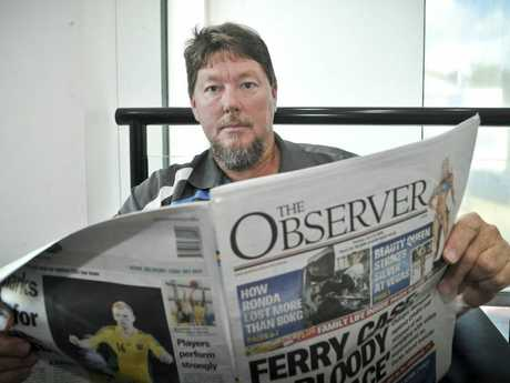 Kirk Porter was keen to buy a caravan that was advertised in The Observer's notices section until he grew suspicious, believing it is now a scam. Photo Dylan Suska / The Observer