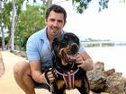 UNBREAKABLE: Brendan De Salis with his dog Chloe