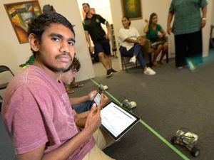 Indigenous youth plug in to Rockhampton workshop