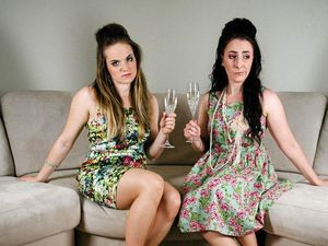 White girls talk first world problems in Miles, Wandoan
