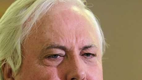 FIGHTER: Member for Fairfax Clive Palmer and former Queensland Premier Campbell Newman were engaged in a long-running skirmish.