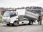 EMISSION FREE: Fuso Canter E-Cell with 110 kW/150 PS.