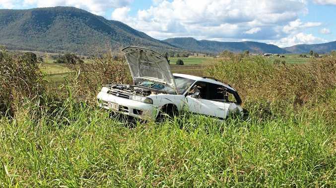 Cunningham Highway crash