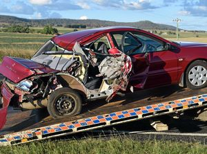 UPDATE: Driver charged over Cunningham Hwy crash