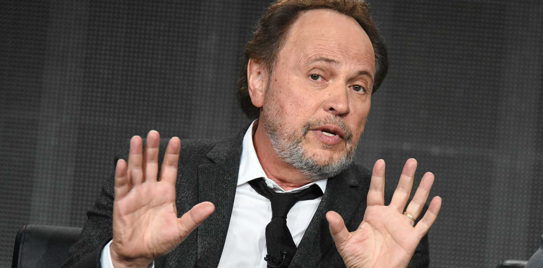 Billy Crystal says he's considering moving to New Zealand over the stress of Trump's high-profile bid to become president.