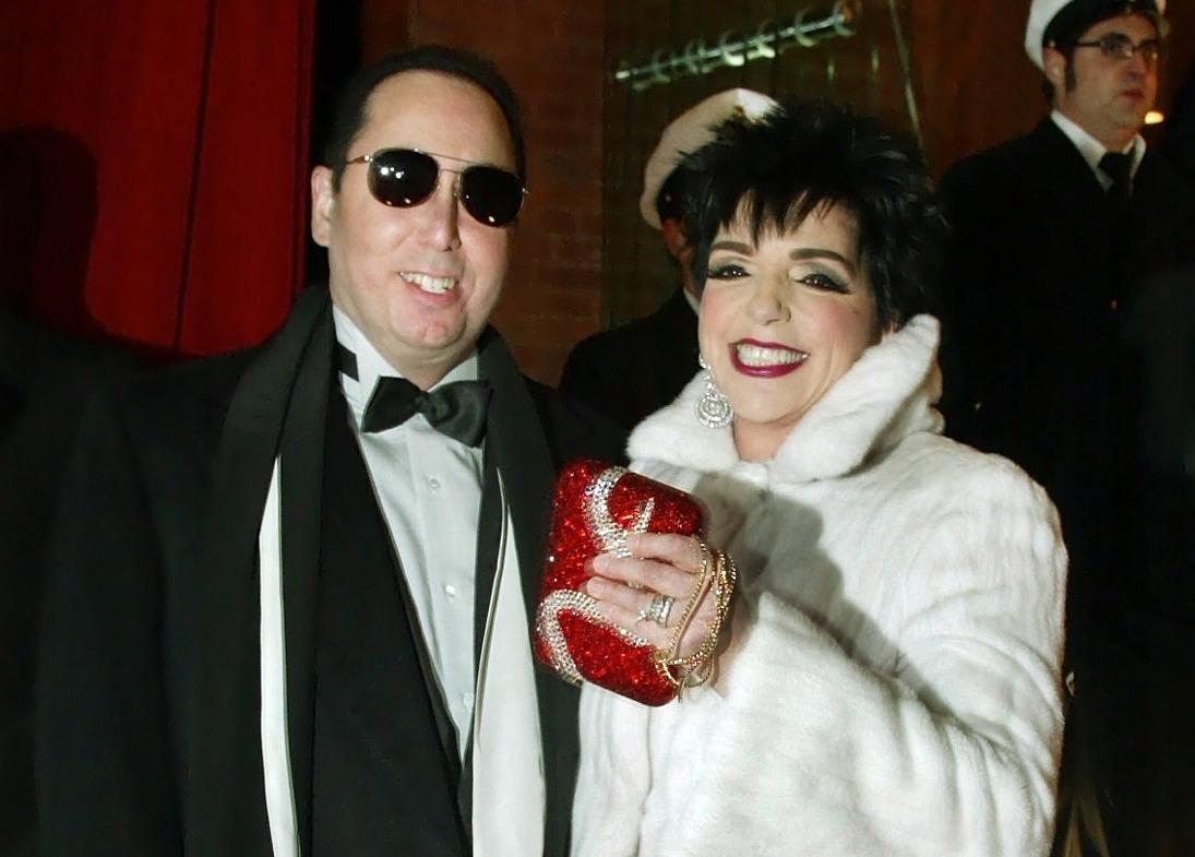 David Gest with former wife Liza Minnelli.