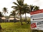 The beachfront property on Rarotonga is the former site of the planned Sheraton Hotel.