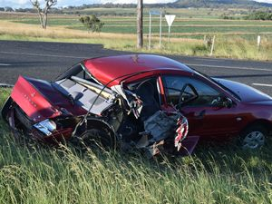 New England Hwy crash