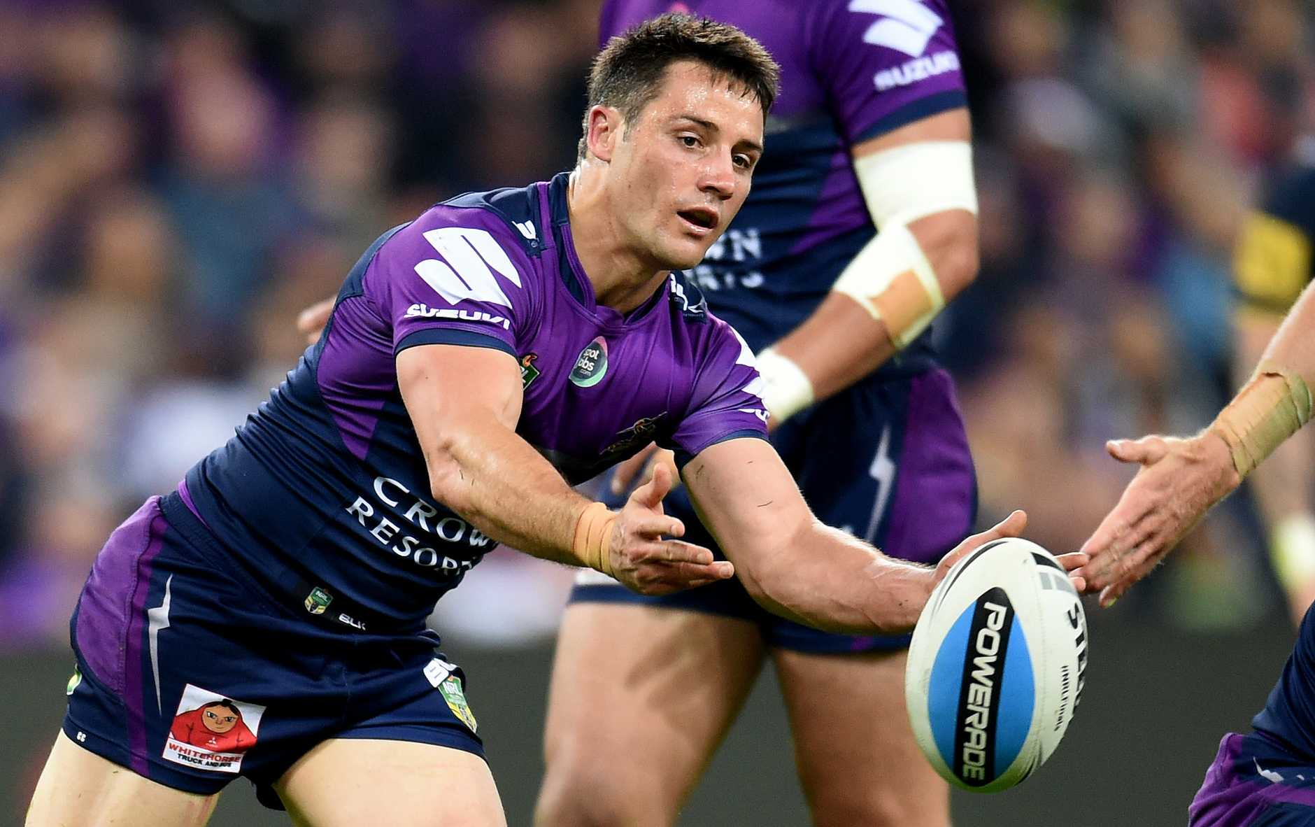 Melbourne Storm is negotiating with superstar Cooper Cronk. Photo: AAP Image.