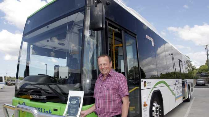 Kangaroo Bus Lines director Daryl Webster