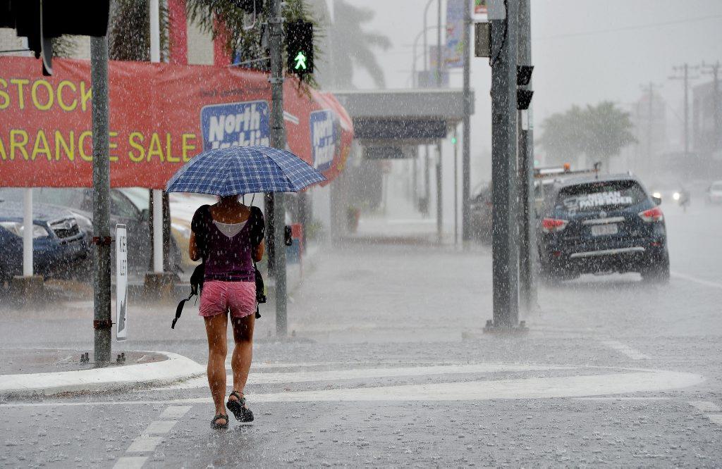 Mackay Wet Weather Photo Tony Martin / Daily Mercury