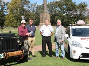 Cabs and Jeeps to transport ex-diggers in Anzac Day parade