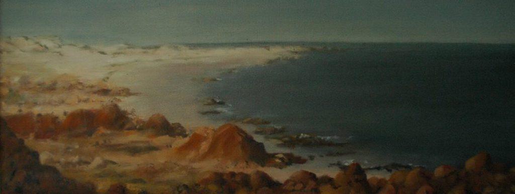 Last Light on the Kimberley Coast-oil