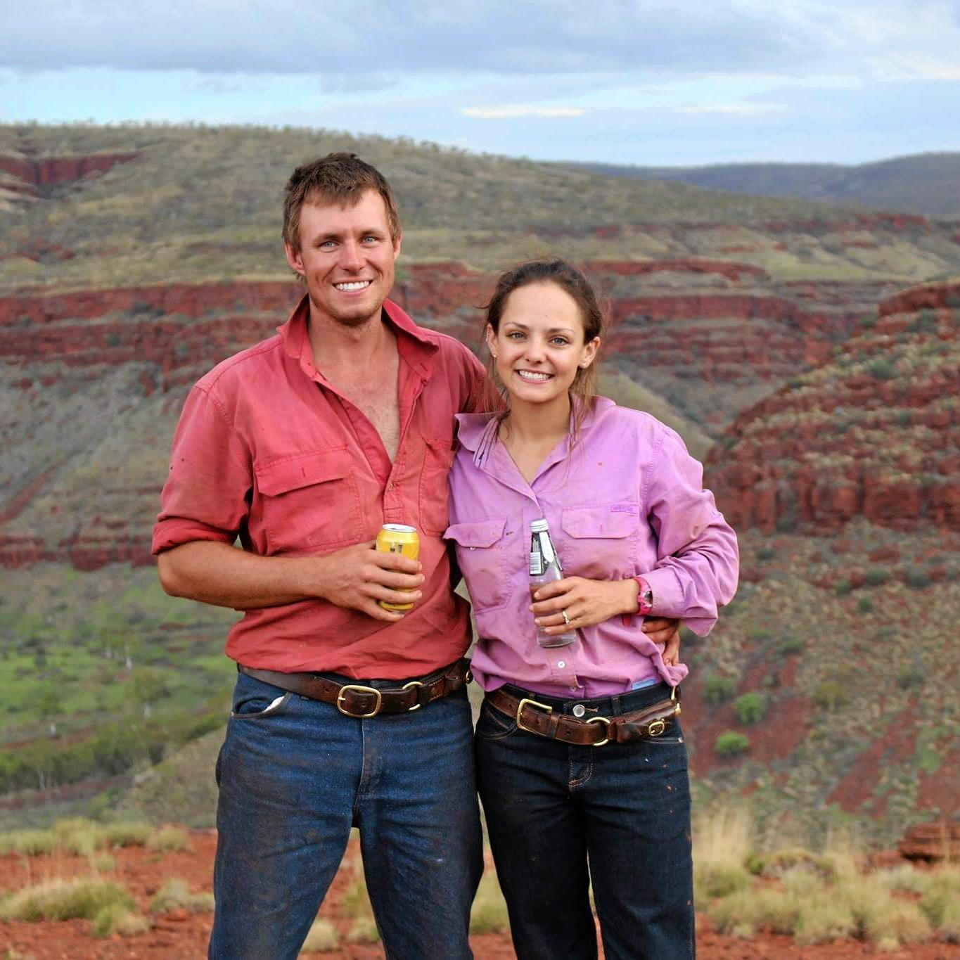 Andrew Briggs and Carissa Gleeson are working together to help treat Carissa's cancer with alternative medicines.