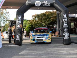 Team Betta Warwick keep going despite radiator problems in Targa Tasmania